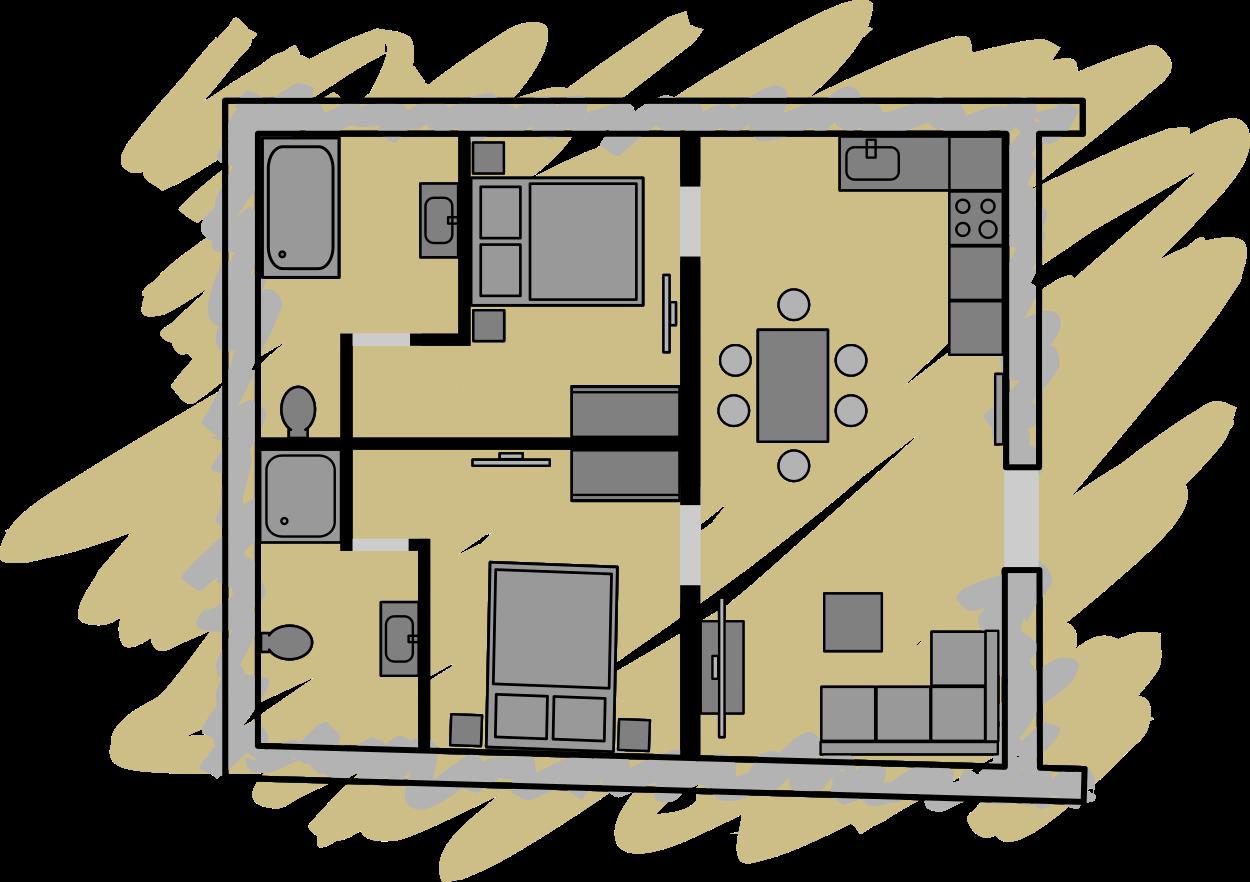 Ferienwohnung Appartement Mauterndorf Lungau